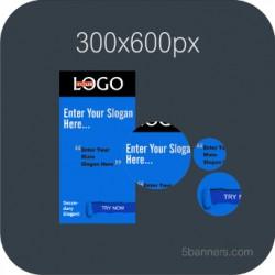 HTML5 BANNER 300X600