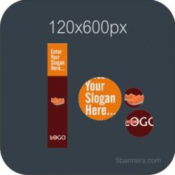 MYBANNER HTML5 Banner 120X600