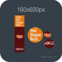 HTML5 Banner 160X600 & Source File
