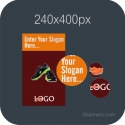HTML5 Banner 240X400 & Source File