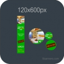 HTML5 Banner 120X600 & SOURCE FILE