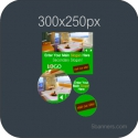 HTML5 Banner 300X250 & SOURCE FILE