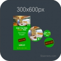 HTML5 Banner 300X600 & SOURCE FILE