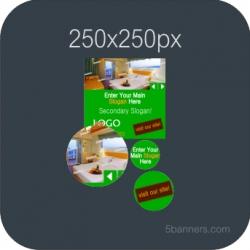 HTML5 Banner 250X250