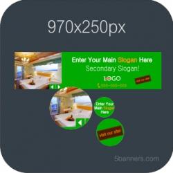 HTML5 Banner 970X250