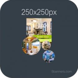 MYBANNER HTML5 Banner 250X250