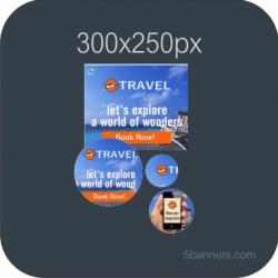 HTML5 Banner 300X250