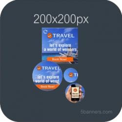 HTML5 Banner 200X200