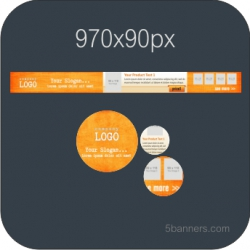 MYBANNER HTML5 Banner 970X90