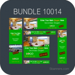 MYBANNER Bundle of 12 Ready Html5 Banners