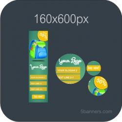 HTML5 Banner 160X600